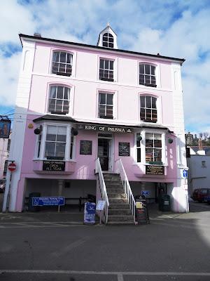 King of Prussia pub Fowey Cornwall