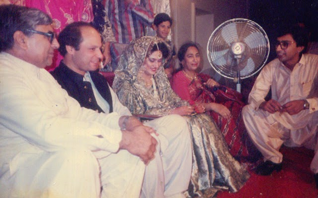 Nawaz sharif wedding unseen pictures b g fashion for Bano qudsia children