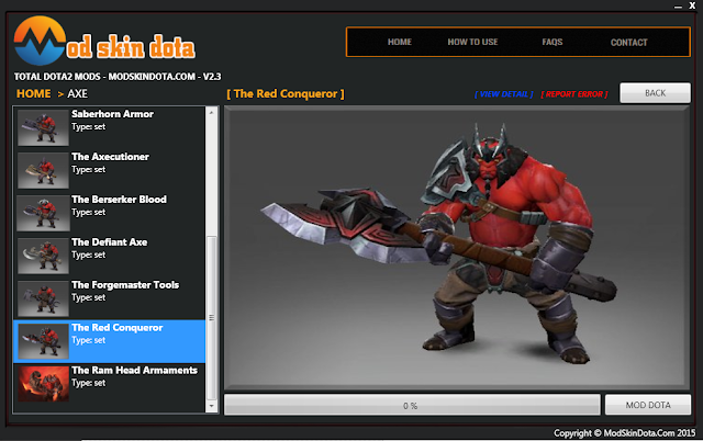 [Mod Dota] The Red Conqueror