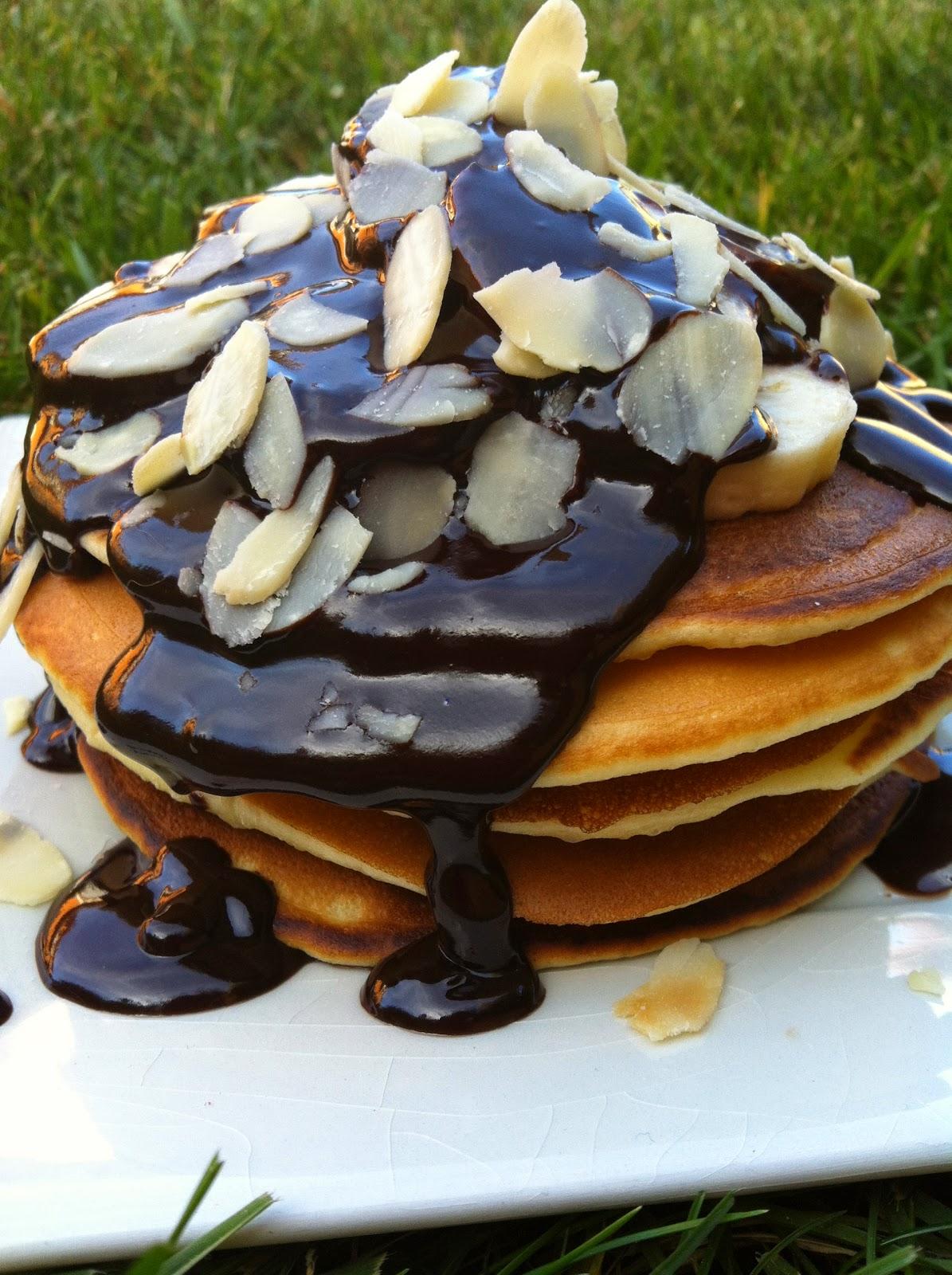"""alt=""""pancakes banane chocolat"""""""
