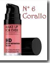 HD blush Make Up For Ever MUFE recensione review prezzo inci swatch