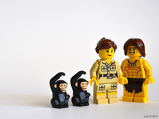 lego tarzan and jane