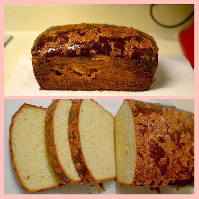 Homemade Fennel Cheddar Bread