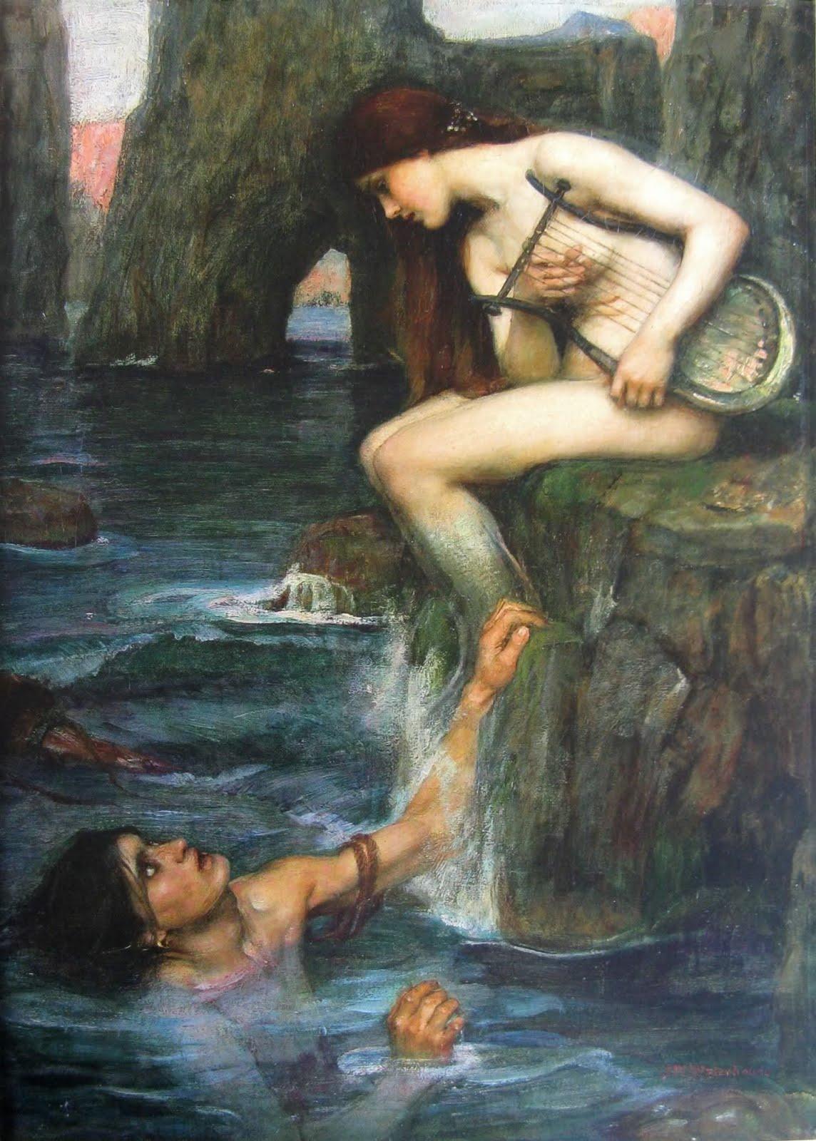 odysseus sirens waterhouse