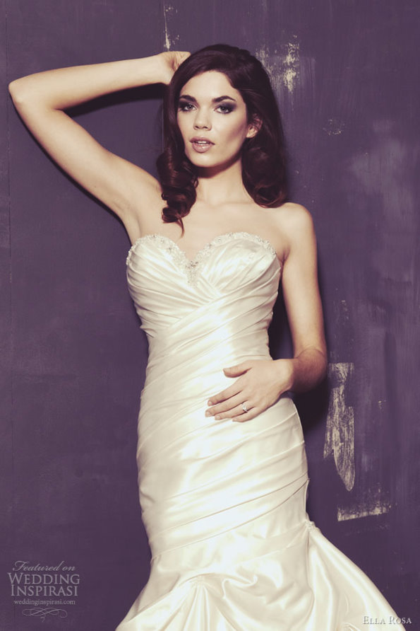 Ella Rosa Spring Bridal Gown 2013 | The Hairs