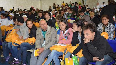 #JMJRio2013: Juventude Missionária participa de Catequese e momento de espiritualidade na JMJ