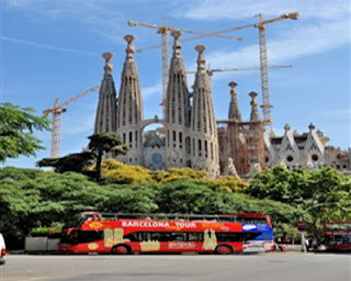 Barcelona-Sightseeing-Bus tour