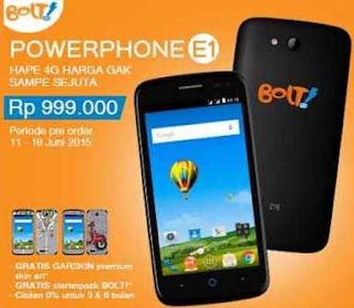 Harga dan Spesifikasi Bolt PowerPhone E1