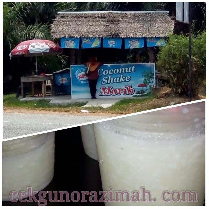 Coconut Shake Morib