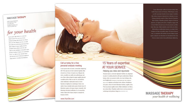 massage price list template - brochure zafira pics brochure templates for massage therapy