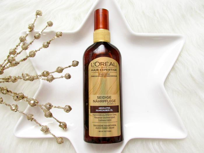 L´Oréal Hair Expertise Seidige Nährpflege - Absolutes Haarzauber-Öl