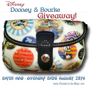 Disney Parks Buttons Wristlet Bag by Dooney & Bourke Giveaway