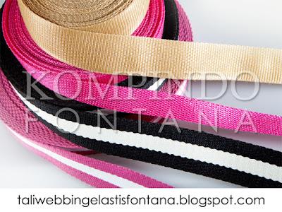 jual tali webbing untuk tali tas tangerang