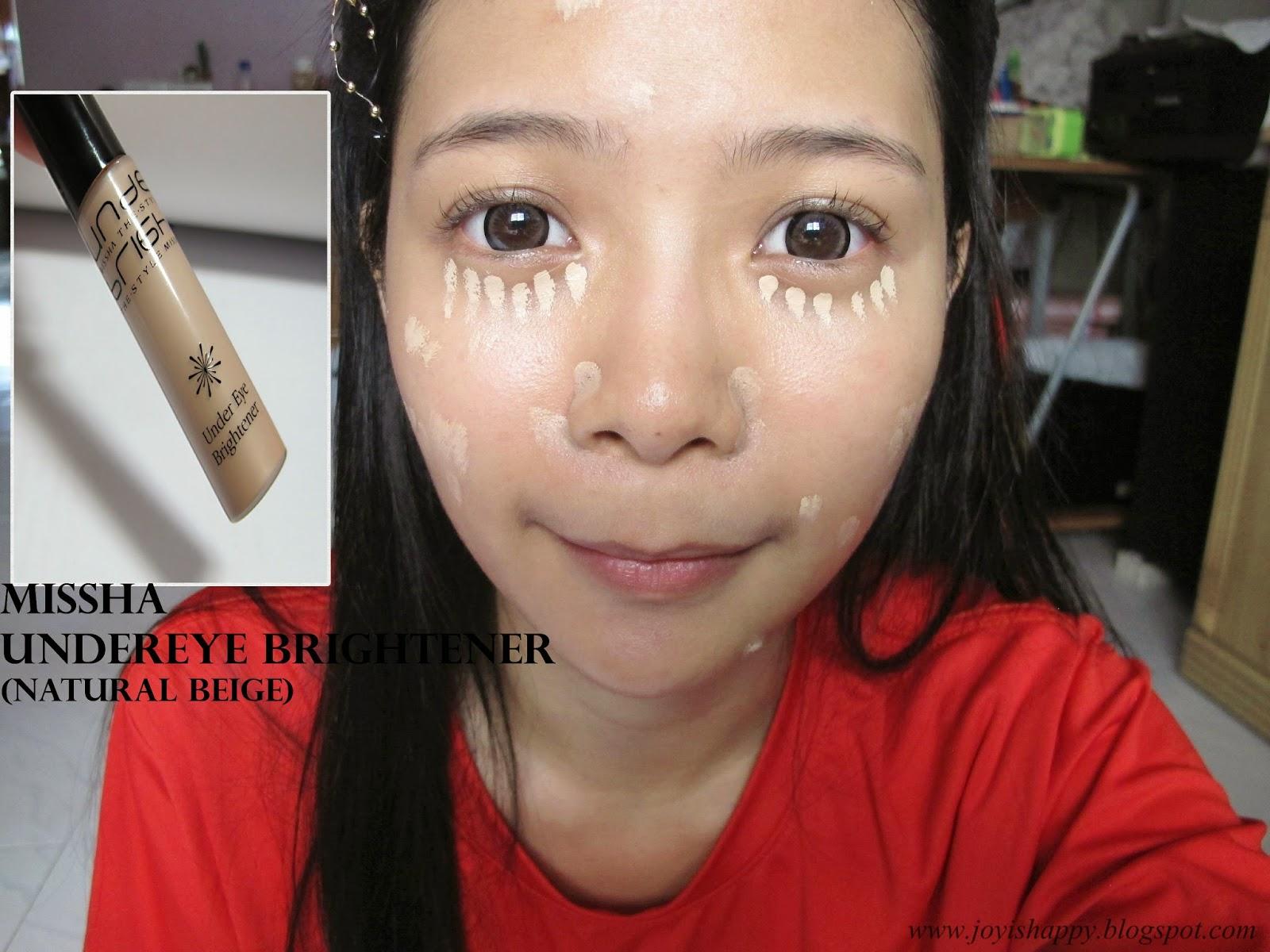missha under eye brightener