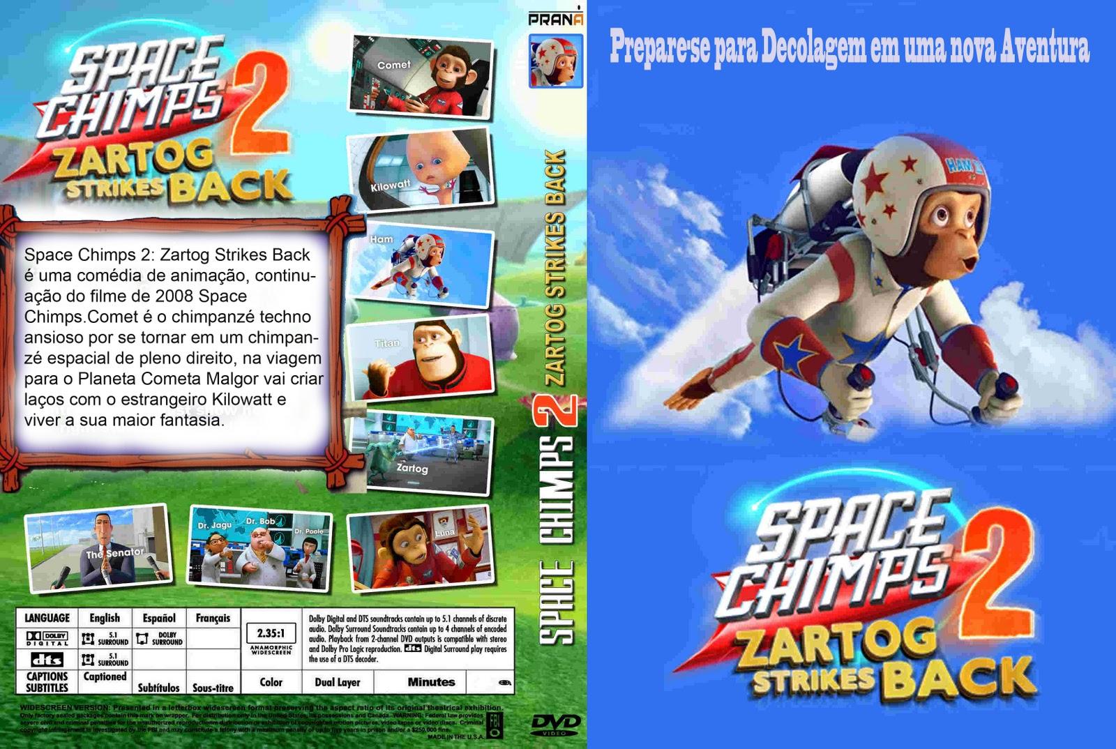 Space Chimps 2 O Retorno De Zartog DVDRip XviD Dual Audio-3LT0N