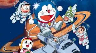 Gambar Doraemon dan teman-teman wallpaper gratis