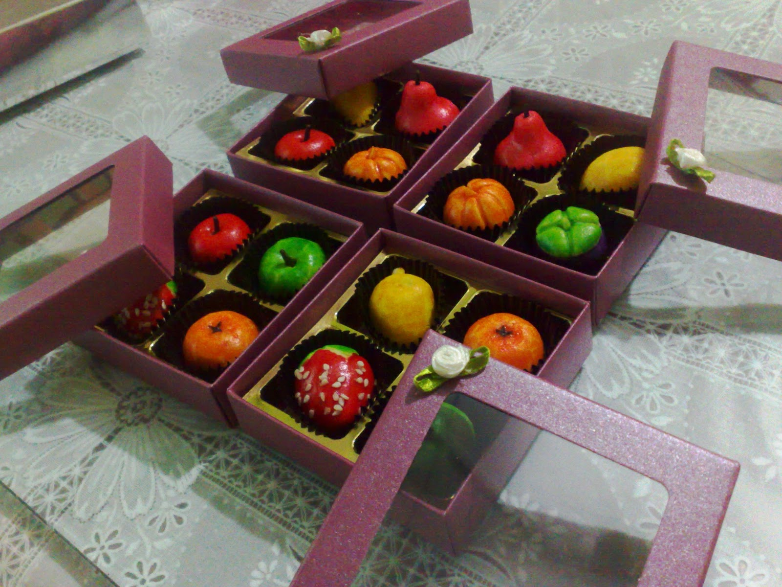 Izrin bakery hantaran door gift tunang for Idea door gift tunang