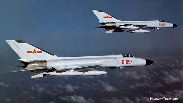 J-8 Finback Chinese Fighter Jets