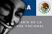 ANONYMOUS ASEGURA POSEER DATOS DE MS DE 25 MIL MILITARES MEXICANOS, SEDENA NIEGA EL ROBO DE DATOS