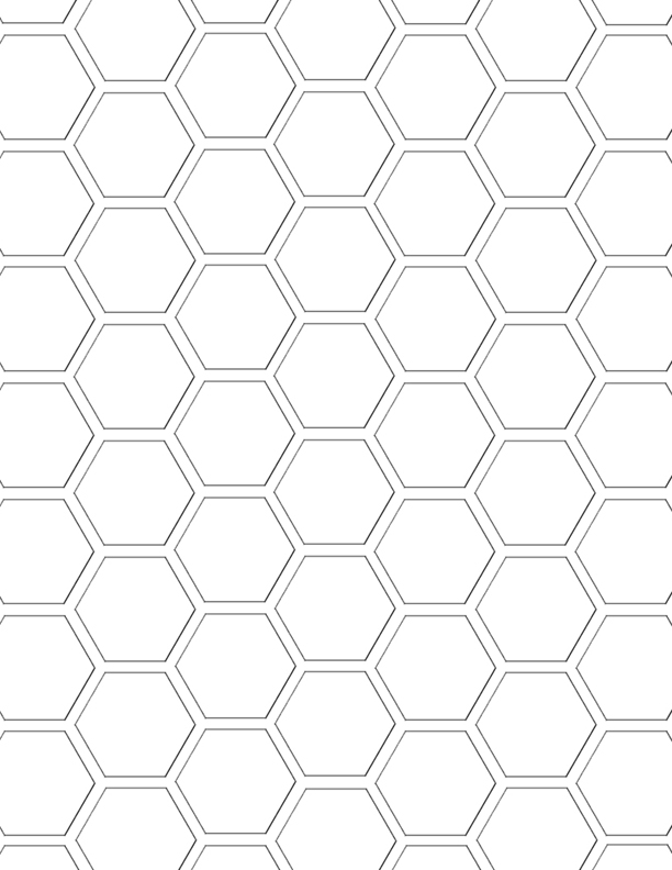 mel stampz hexagon digital paper template hex paper freebies