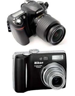 kamera DSLR dan kamera digital