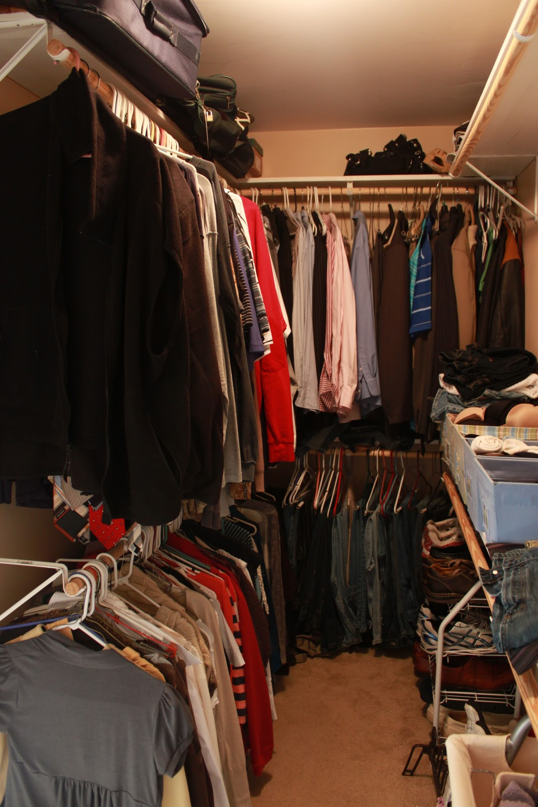 Closet Makeover Update & A Video Love of Family & Home