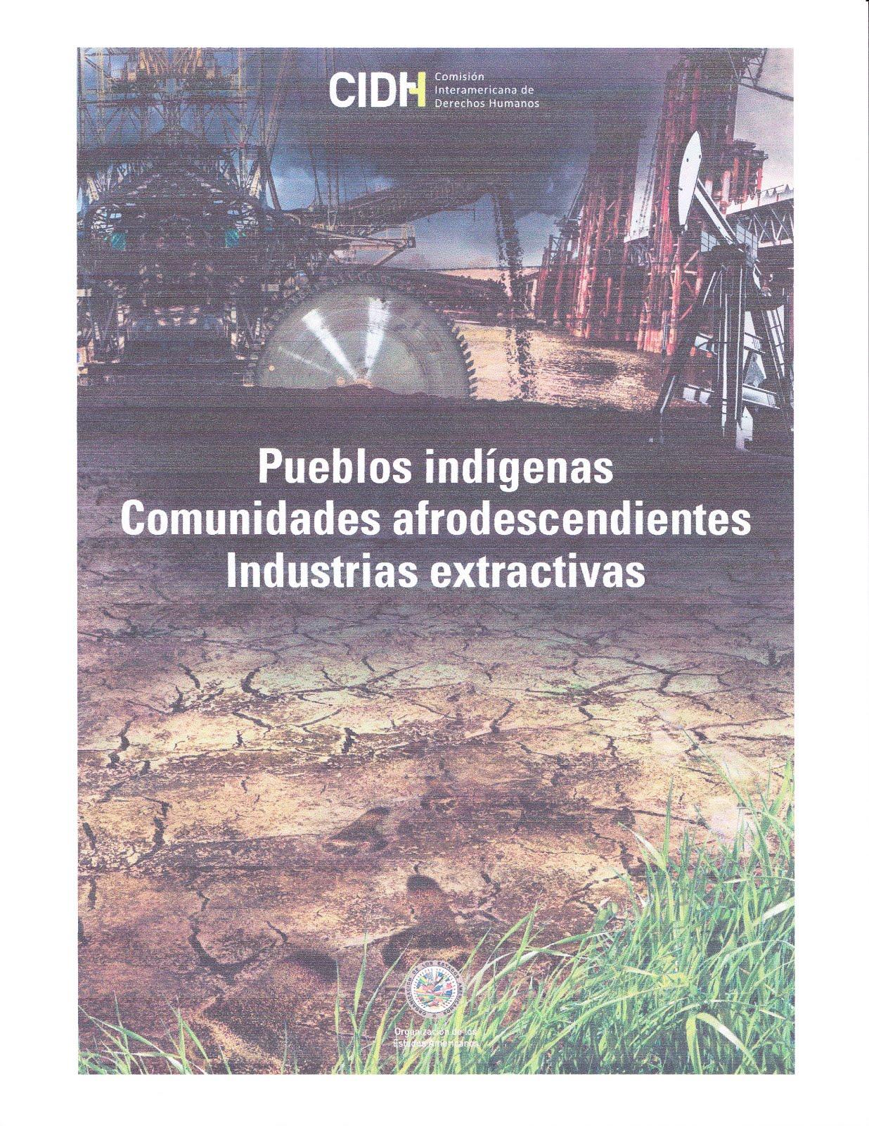 Pueblos indígenas, Comunidades afrodescendientes, Industrias extractivas