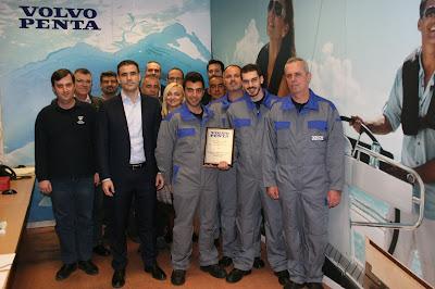 Πρώτη θέση στην παροχή υπηρεσιών After-Sales για τη Volvo Penta Σαρακάκης ανάμεσα σε 42 χώρες από 4 ηπείρους
