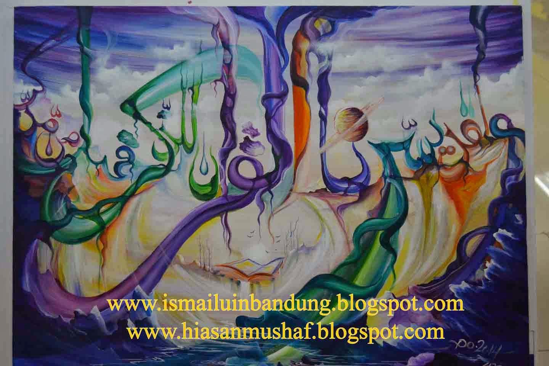 Welcome To Ismail Sites Contoh Kaligrafi Kontemporer Pada Mtq