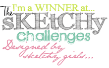 I won at The Sketchy Challenge!