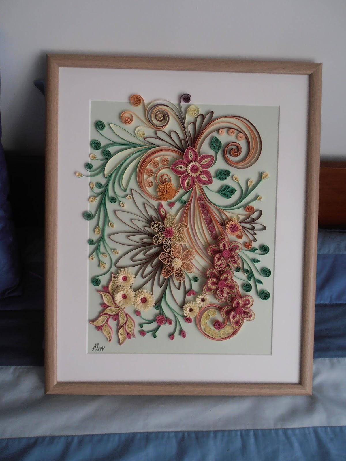 artesania nines  cuadros de filigrana