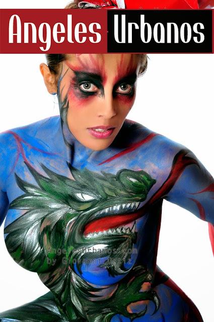 body painting bogota