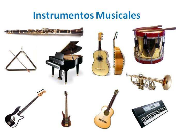 Los instrumentos musicales y sus nombres - Imagui