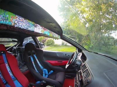 98 Civic EK Type R race seats