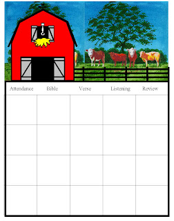 Barnyard Coloring Pages
