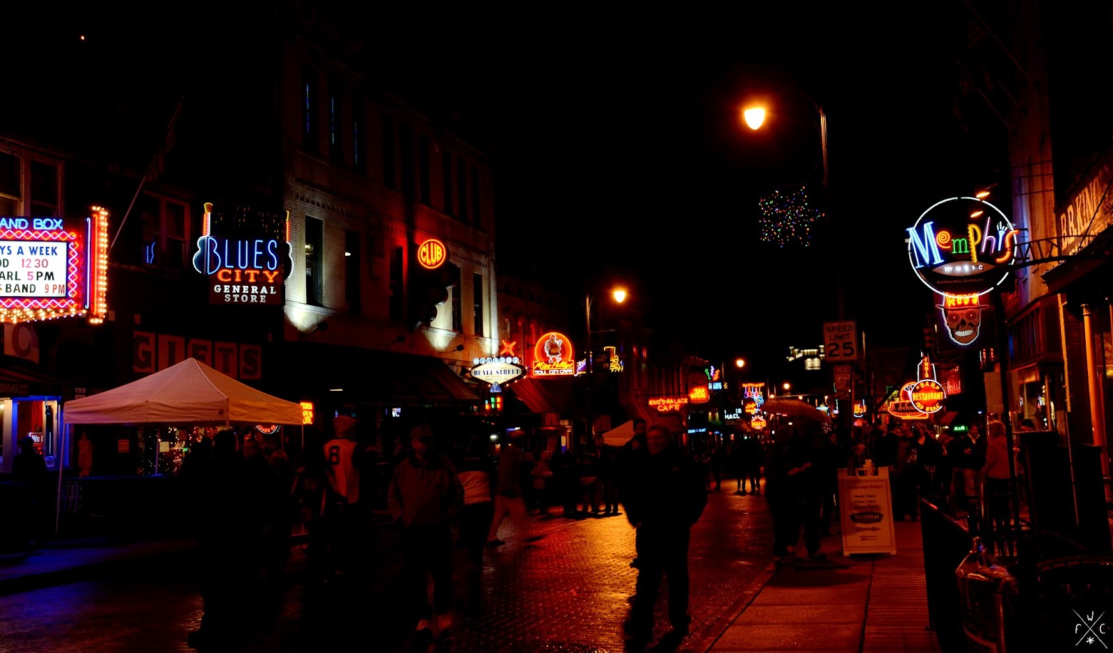 Beale Street - Memphis - Tennessee - USA