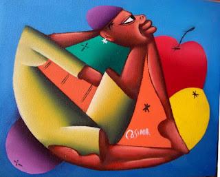 Cuadros Etnicos Modernos Pintura Africana