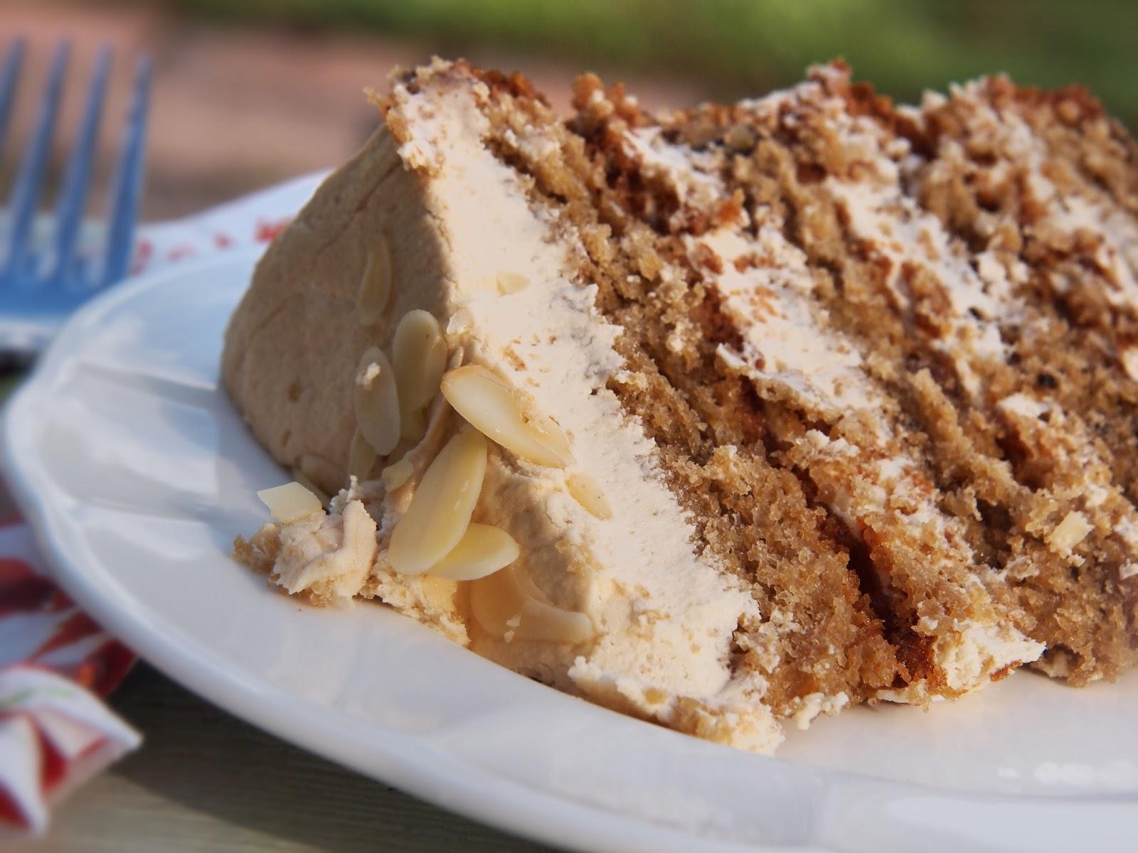 Almond layer cake recipe from scratch
