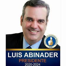 LUIS ABINADER, candidato presidencial del PRM y aliados