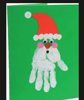 awesome christmas christmas foot tree 6 of 9 snowman handprint ...