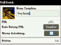 Ciri-Ciri PIN BBM for Android