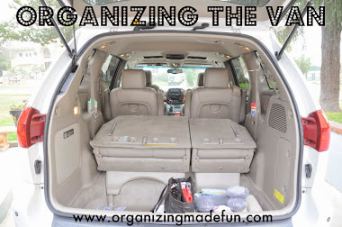 Get your van/car organized