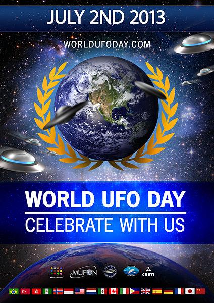 Παγκόσμια Ημέρα UFO (2 Ιουλίου του 2013)