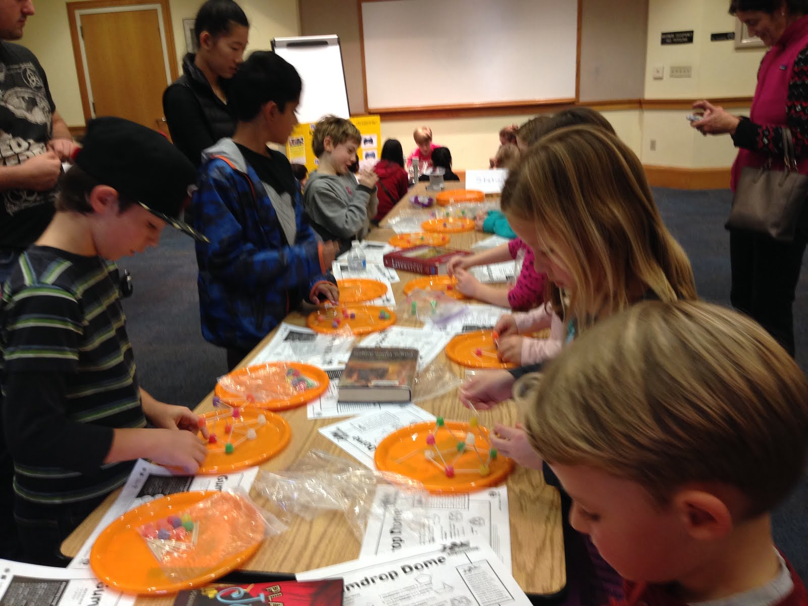 Fun with Robots, Math and Science Day at the Library