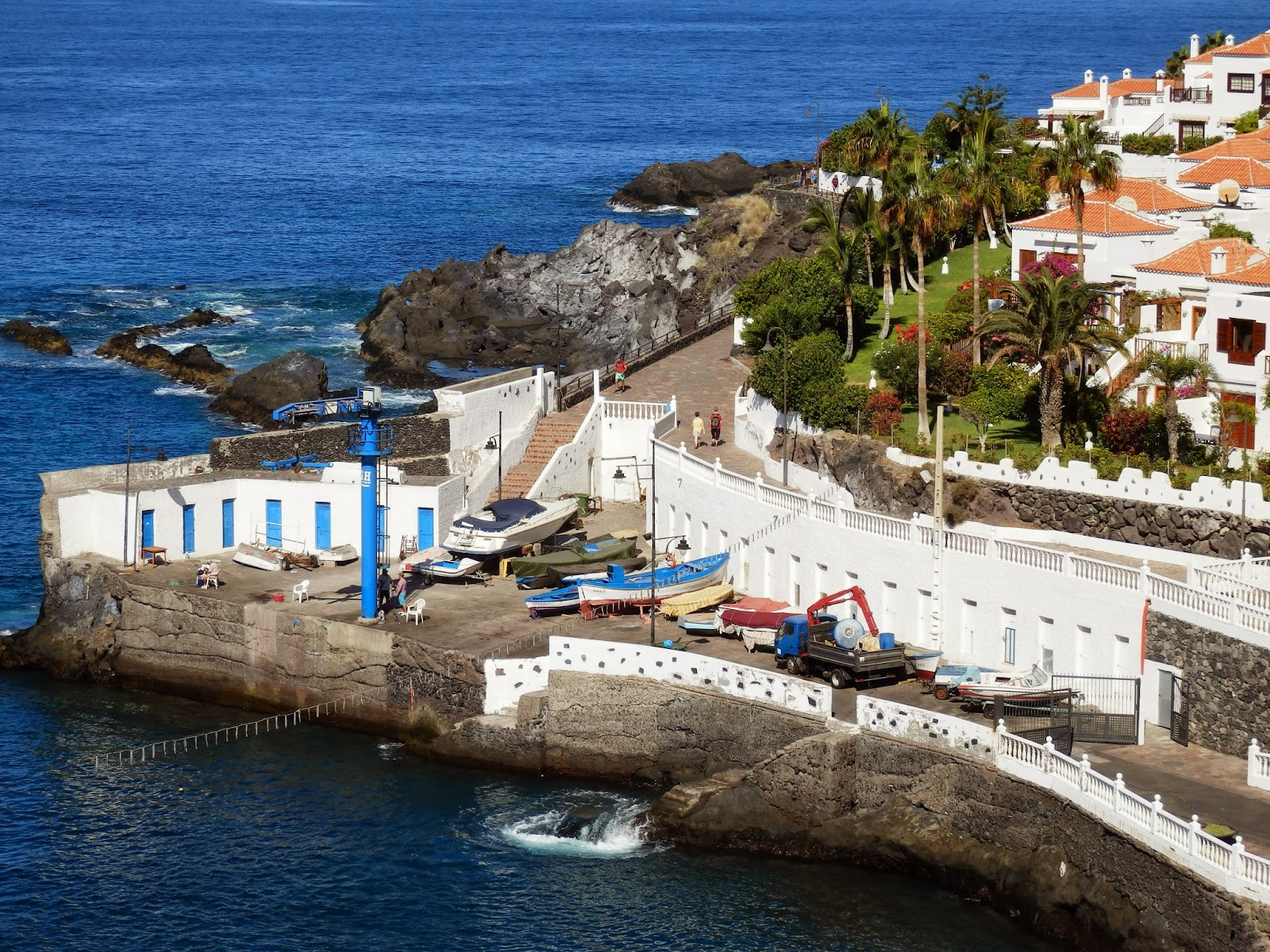 Puerto Santiago, Tenerife, Canary Islands