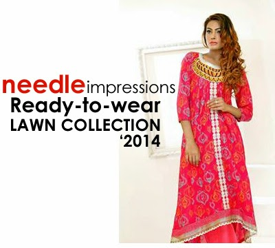Needle Impressions Ready To Wear Lawn Collection 2014