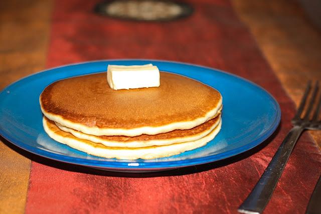 Tortitas americanas. Pancake recipe.