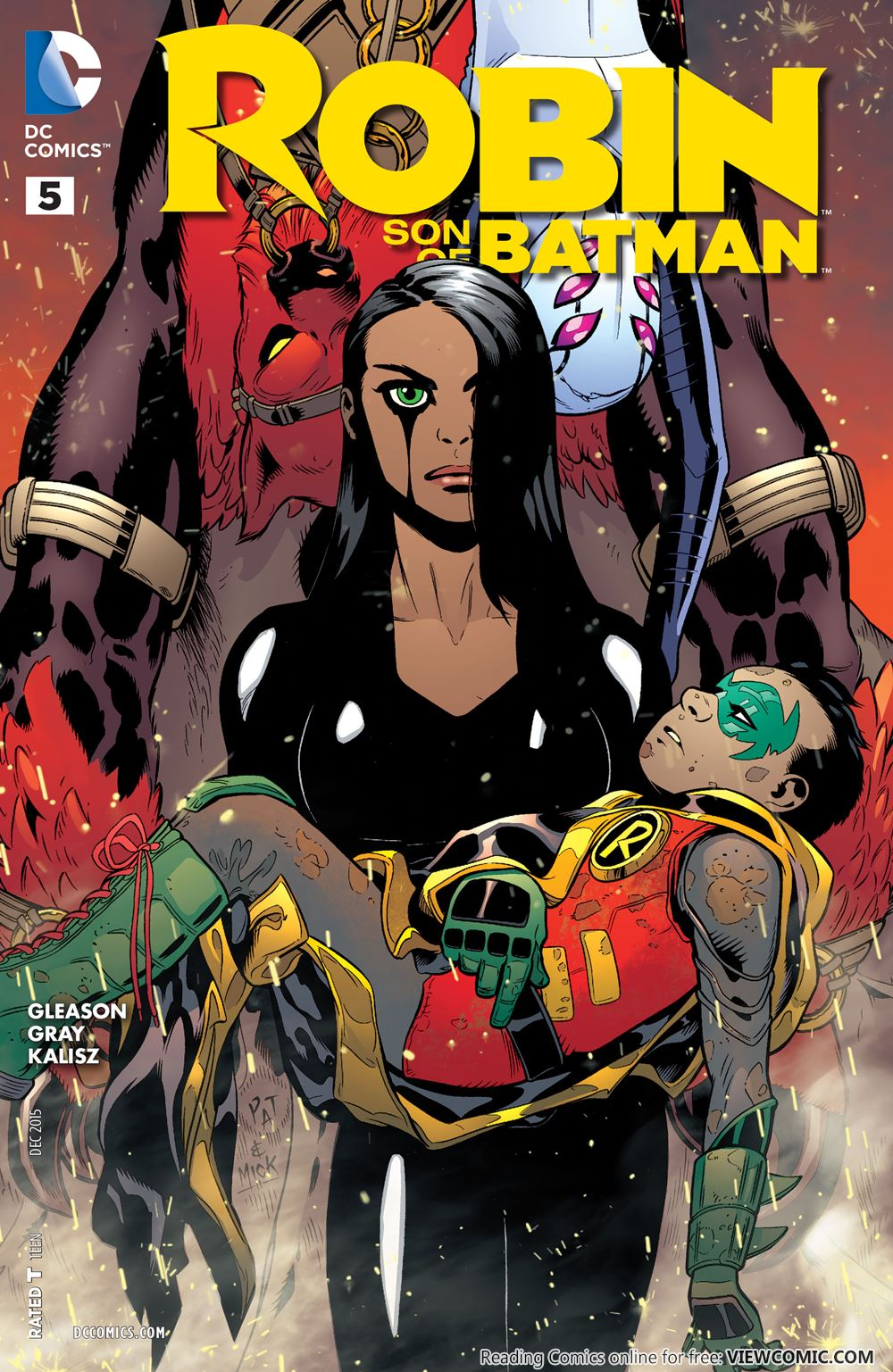 Robin – Son of Batman 005 (2015) ………… | Viewcomic reading ...