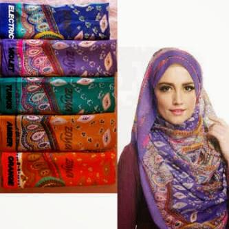 Contoh Desain Hijab Terbaru 2014