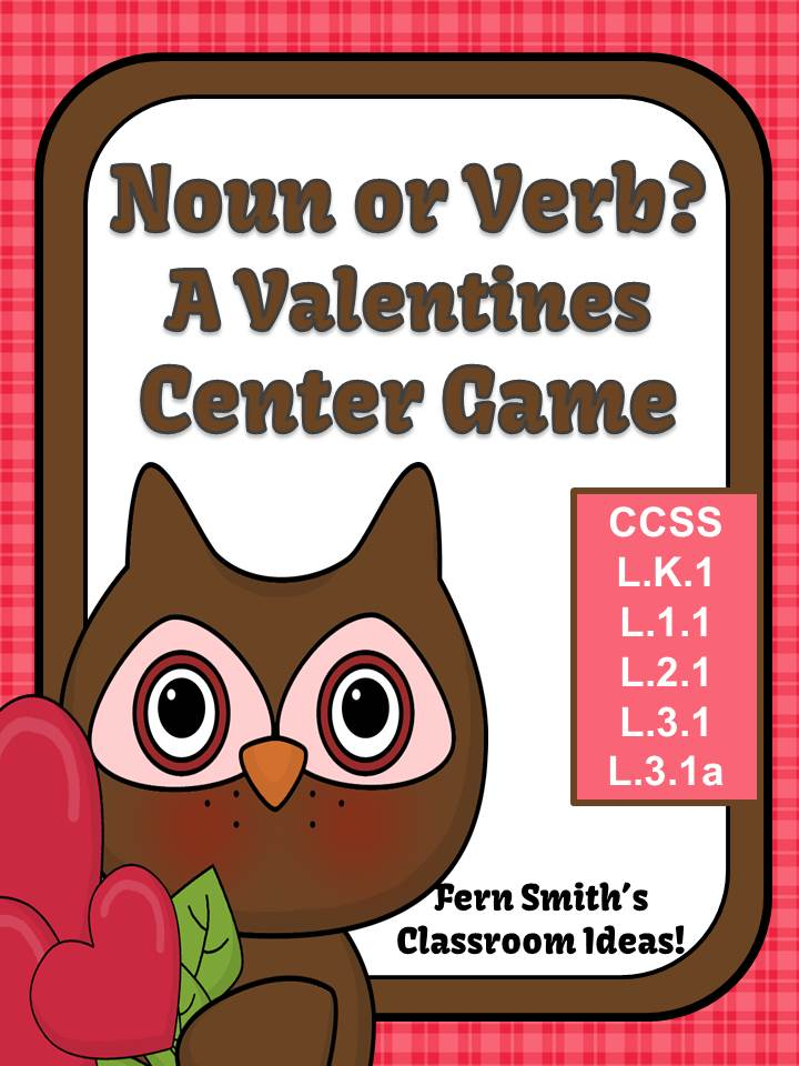 http://www.teacherspayteachers.com/Product/Noun-or-Verb-A-Valentines-Day-Packet-1049944